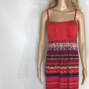Soma maxi dress resort style flowing Sz Small